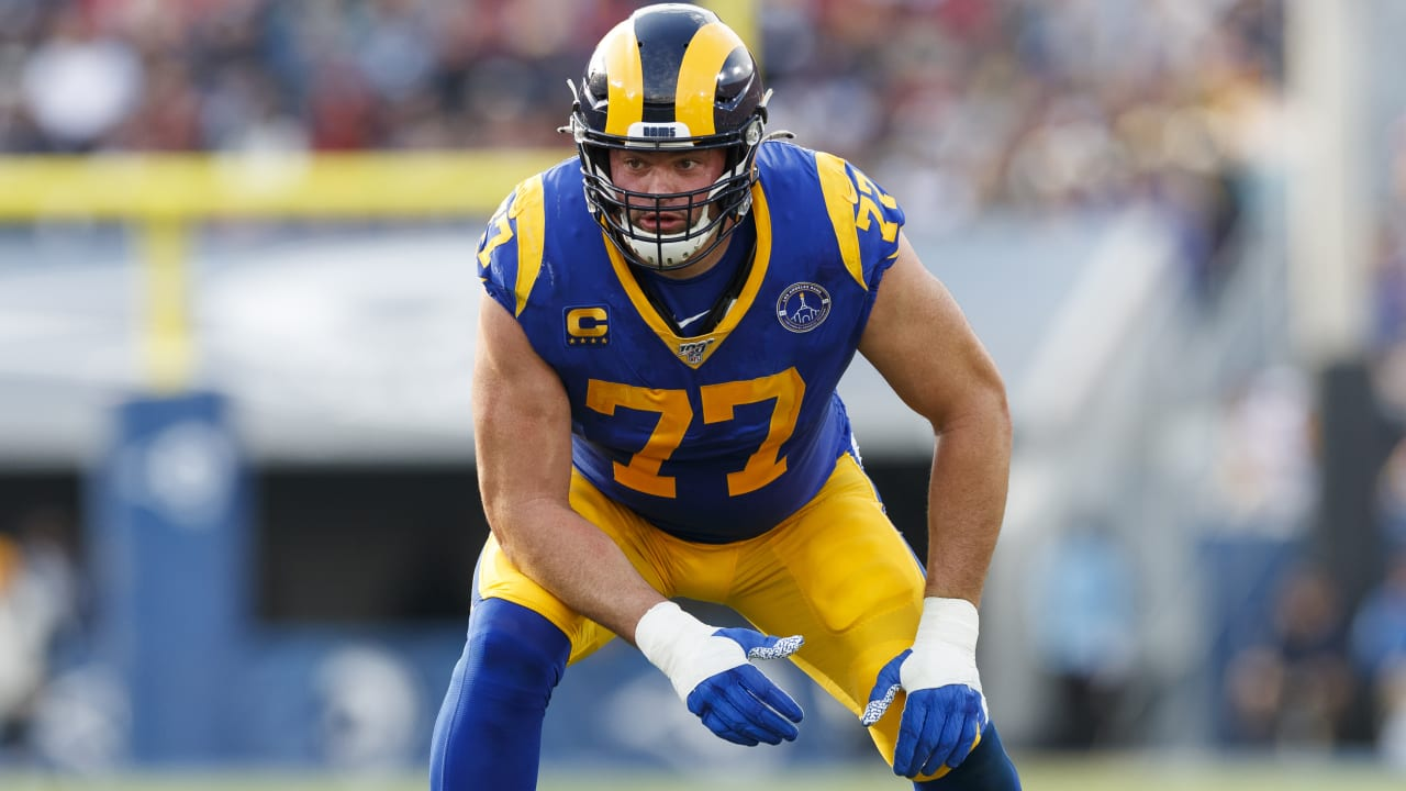 Rams LT Andrew Whitworth, family tested positive for COVID-19