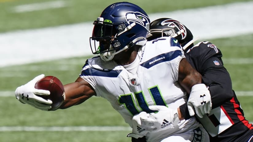NFL Network's Mike Silver: Seattle Seahawks wide receiver DK Metcalf starting to look 'kind of like' Atlanta Falcons wide receiver Julio Jones in Year 2