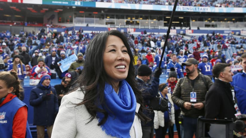 What Kim Pegula Does On A Bills Game Day