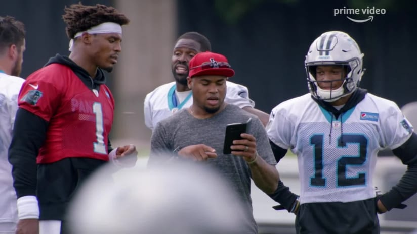 All or Nothing: Steve Smith Sr. messes with D.J. Moore