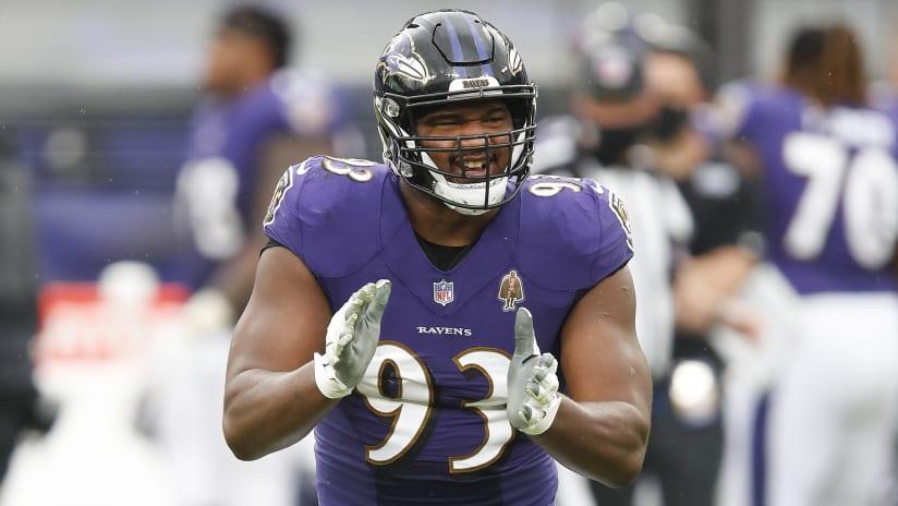 Brandon Williams Baltimore Ravens AFC Pro Bowl Game Jersey