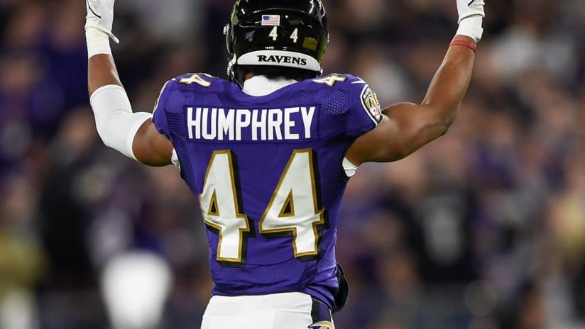 Marlon Humphrey: Ravens' identity is playoff choking