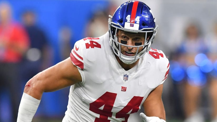 Report: Giants releasing Mark Herzlich after 7 seasons