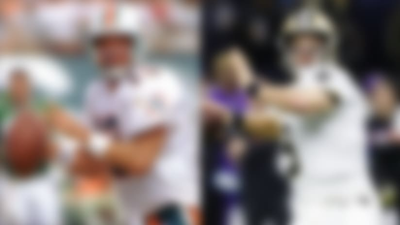 Dan Marino vs. Drew Brees: Who is the purer passer?