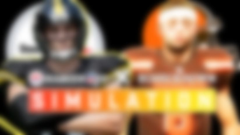 Steelers vs. Browns 'Madden 20' simulation | Week 17 preview