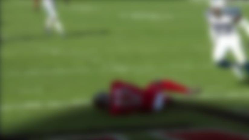 Justin Watson makes quick adjustment for 17-yard TD