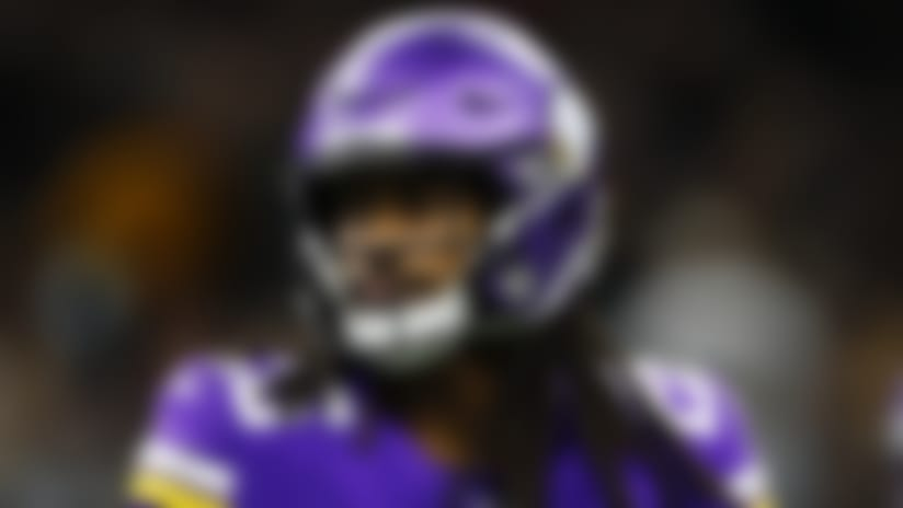 Minnesota Vikings defensive back Trae Waynes (26) lines up during an NFL wild-card playoff football game against the New Orleans Saints, Sunday, Jan. 5, 2020, in New Orleans. The Vikings beat the Saints 26-20. (Matt Patterson via AP)