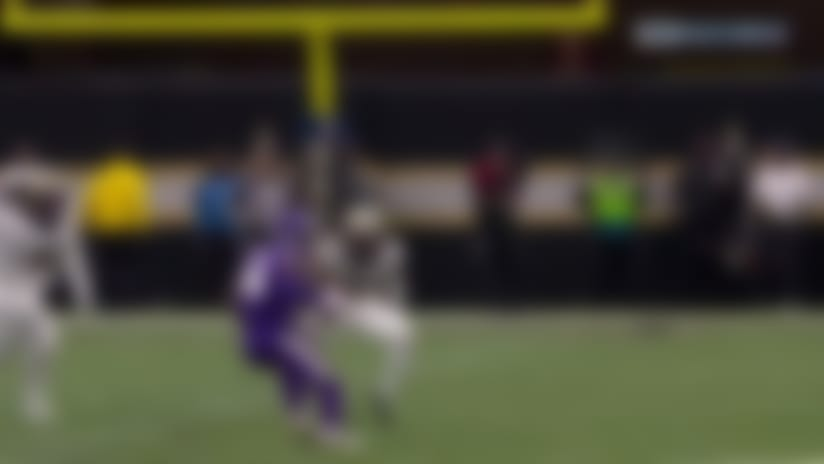 Saints sniff out Vikes' trick play to drop Diggs for big loss