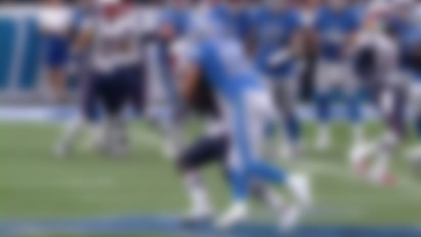 Bentley anticipates Stafford's pass and comes up with big INT