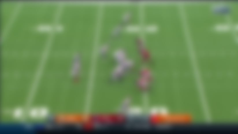 Jacob Martin wins off the edge for blazing fast third-down sack