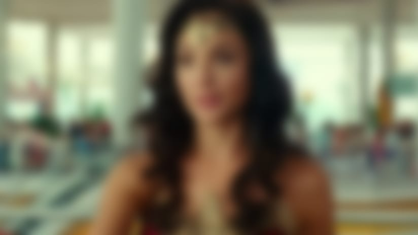 Wonder Woman says that your stain can wait in Tide ad