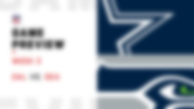 Cowboys vs. Seahawks preview | Week 3