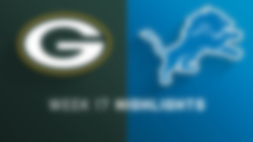 Packers vs. Lions highlights | Week 17