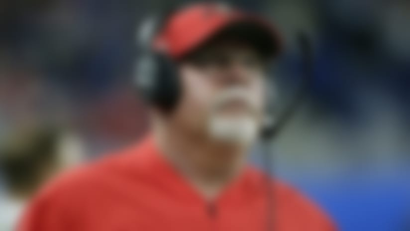 Tampa Bay Buccaneers head coach Bruce Arians walks the sideline during the second half of an NFL football game against the Detroit Lions, Sunday, Dec. 15, 2019, in Detroit. (AP Photo/Duane Burleson)