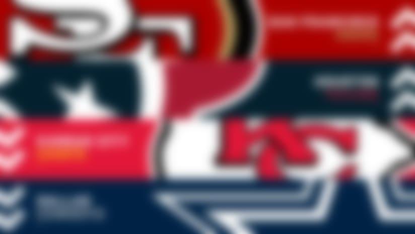 NFL Power Rankings, Week 7: 49ers eyeing No. 1; Texans surge