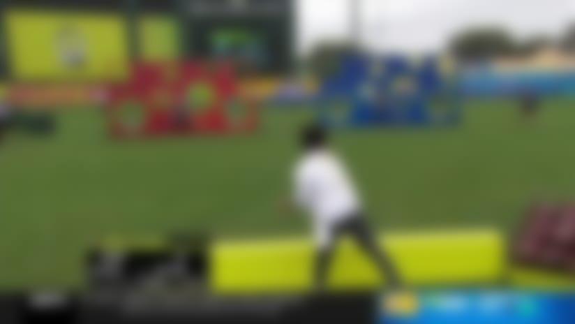 Wilson tests Fitzpatrick, Gilmore in 'Thread the Needle' | 2020 Pro Bowl Skills Showdown