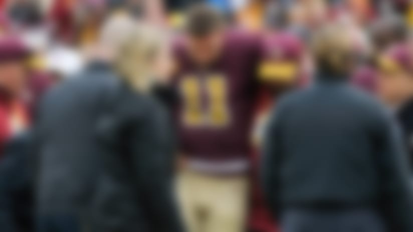 Alex Smith 'lucky to be alive' after serious leg infection