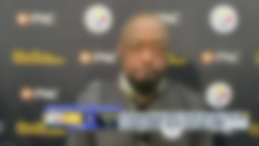 Mike Tomlin reacts to Steelers' blowout win over Jags