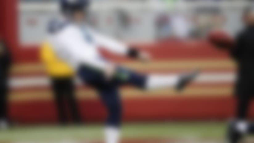 Seahawks punter Jon Ryan