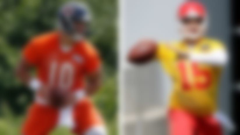 Bears, Chiefs set to buck the rookie trend at QB
