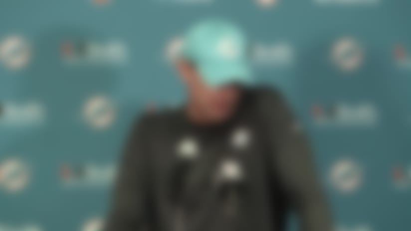 Dolphins postgame press conference
