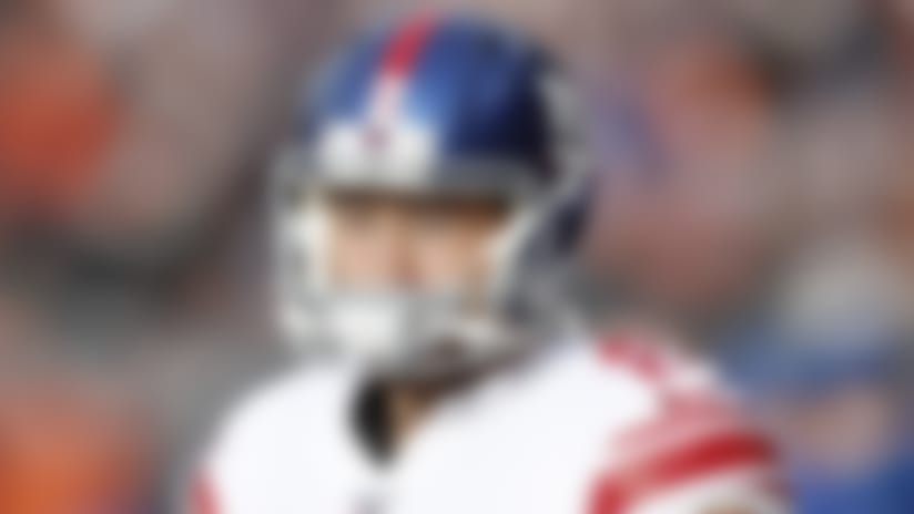New York Giants kicker Aldrick Rosas (2) looks on from the sideline during an NFL football game against the Chicago Bears, Sunday, Nov. 24, 2019 in Chicago. The Bears defeated the Giants 19-14. (Scott Boehm via AP)