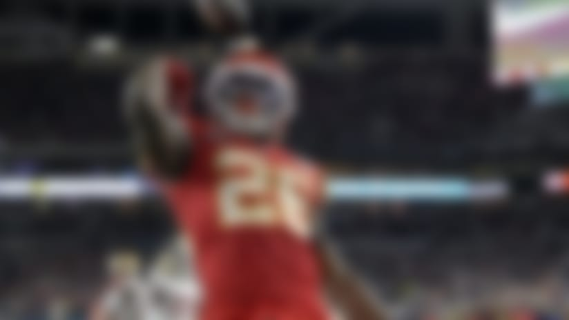 Kansas City Chiefs running back Damien Williams
