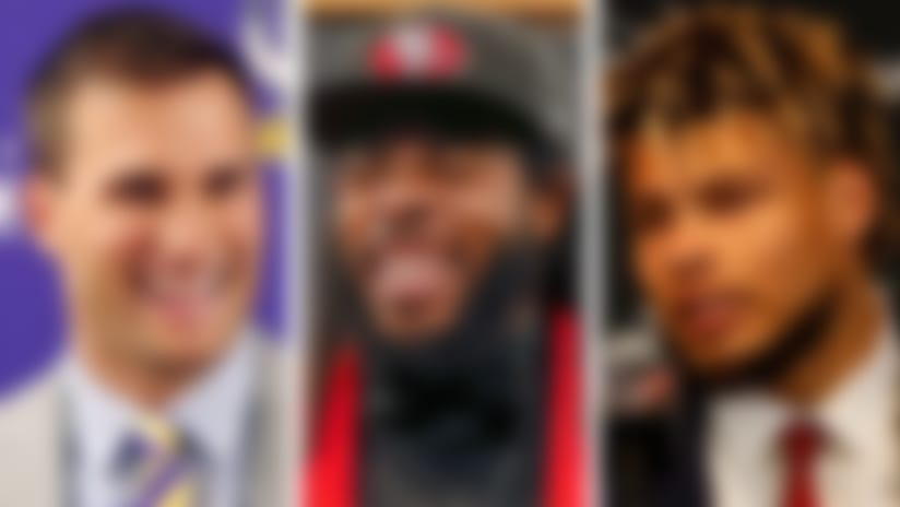 Kirk Cousins, Richard Sherman and Tyrann Mathieu