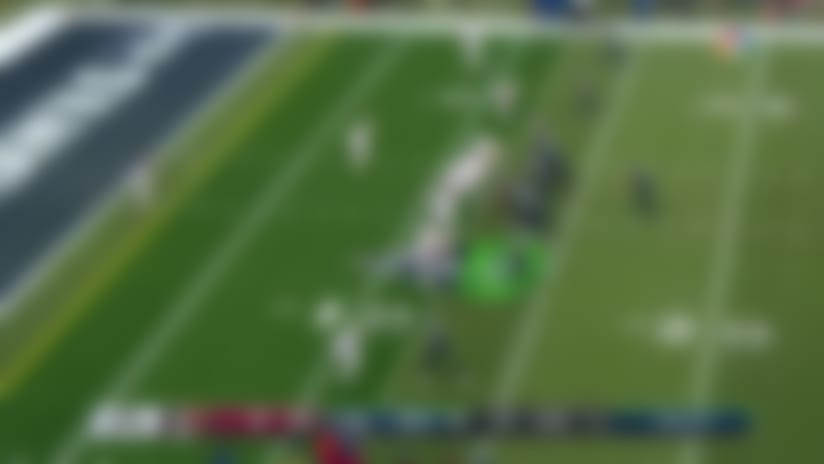 John Ursua's first NFL catch goes for CLUTCH fourth-down grab