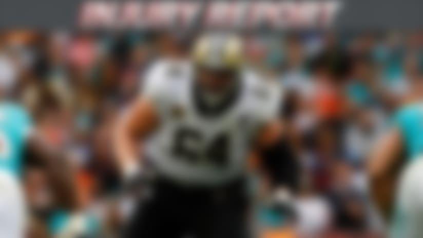 Zach Strief injury report
