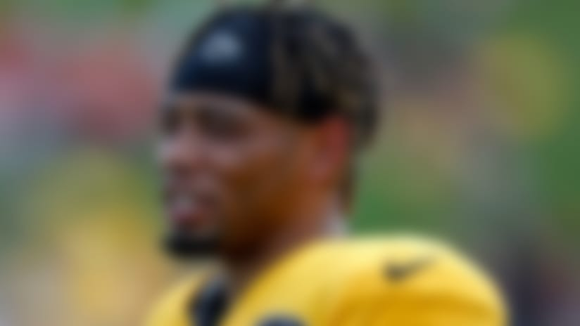 Pittsburgh Steelers cornerback Joe Haden (23) during an NFL football training camp practice in Latrobe, Pa., Sunday, July 28, 2019. (AP Photo/Keith Srakocic)