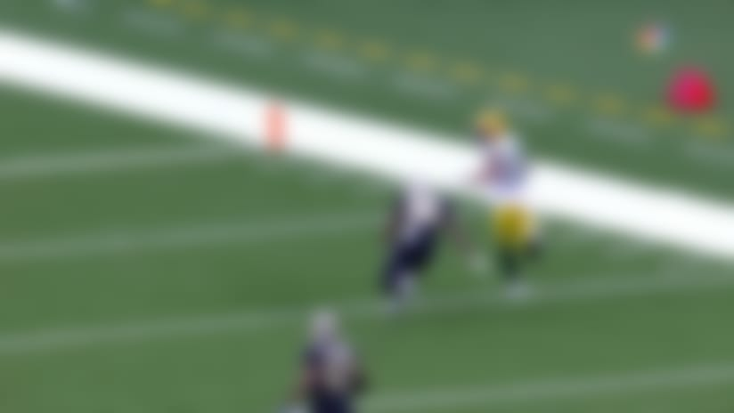 Where'd he go? Lazard loses Saints defenders on massive 72-yard play