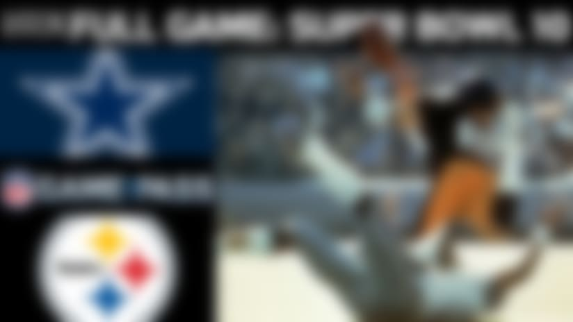 Full NFL Game: Super Bowl X - Cowboys vs. Steelers  | NFL Game Pass