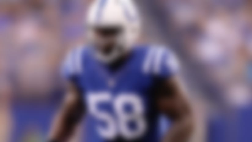 Colts place veteran pass-rusher Trent Cole on IR