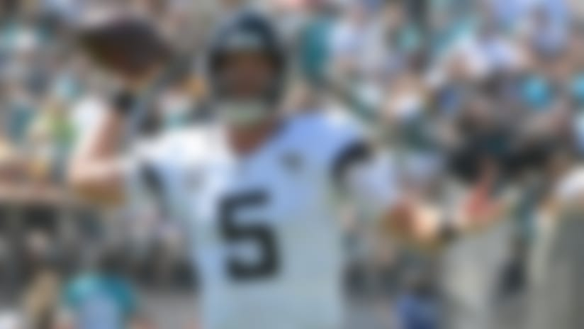 Bortles passes to Seferian-Jenkins for 21-yard gain