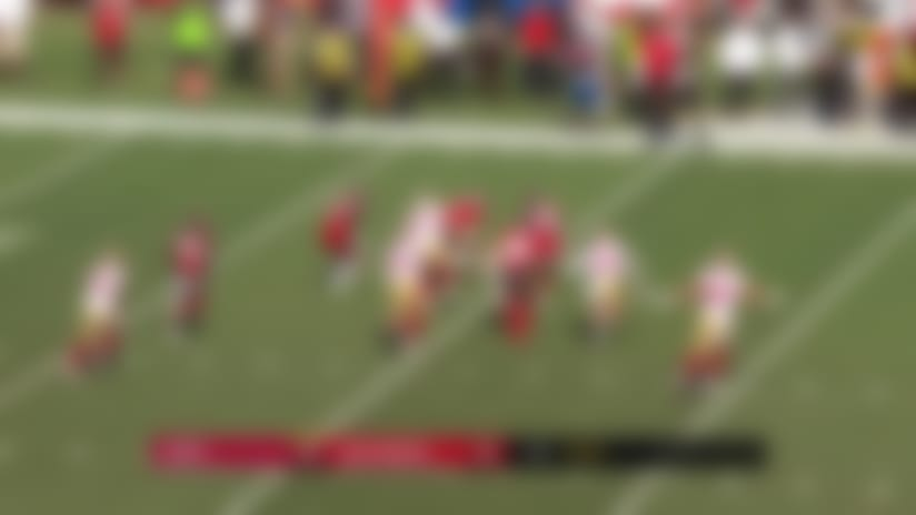 49ers special teams comes up BIG early with blocked punt