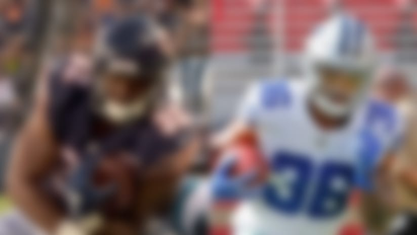 David Montgomery, Tony Pollard among 2019 NFL rookie risers