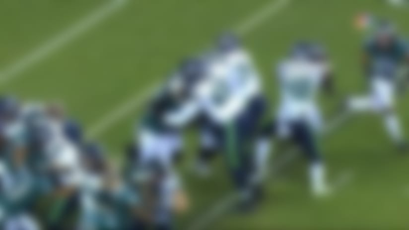 Eagles BLOCK Jason Myers' early 35-yard FG try