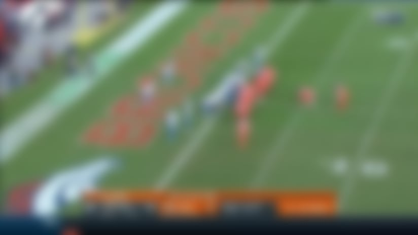 Royce Freeman caps Broncos' 9-play drive with strong TD