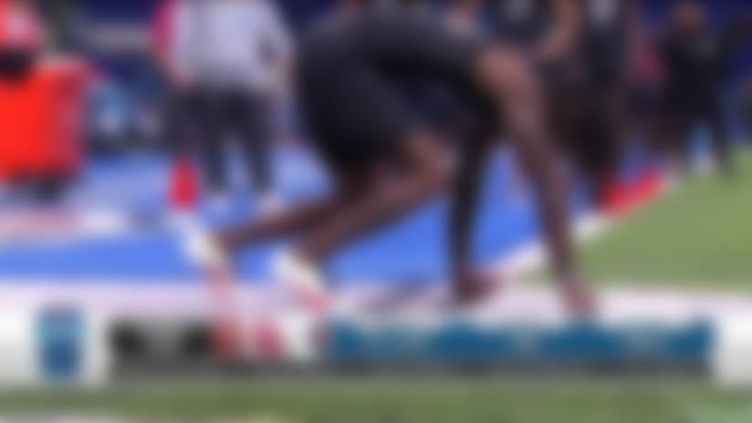 Oklahoma Sooners wide receiver CeeDee Lamb's 2020 NFL Scouting Combine workout