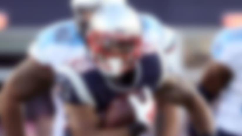 Patriots ride new backfield trio to victory over Titans