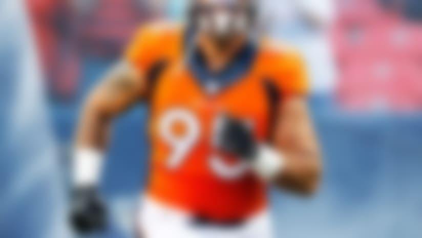 Broncos DE Derek Wolfe dealt four-game suspension