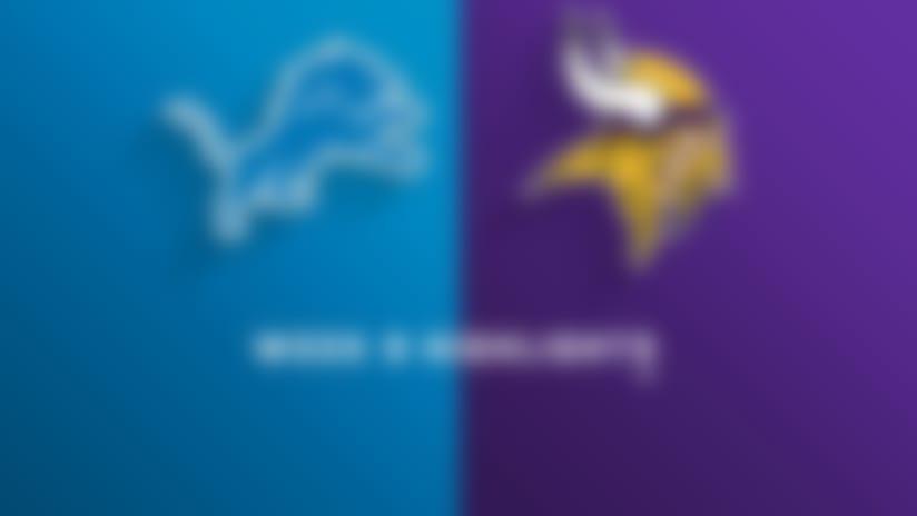 Lions vs. Vikings highlights | Week 9