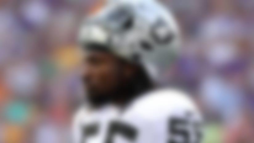 Injury roundup: Raiders' Sio Moore suffers neck strain