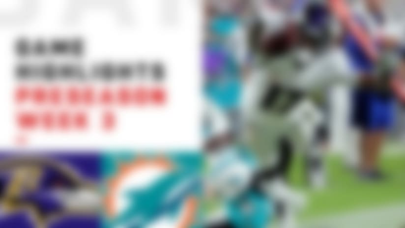 Ravens vs. Dolphins highlights | Preseason Week 3