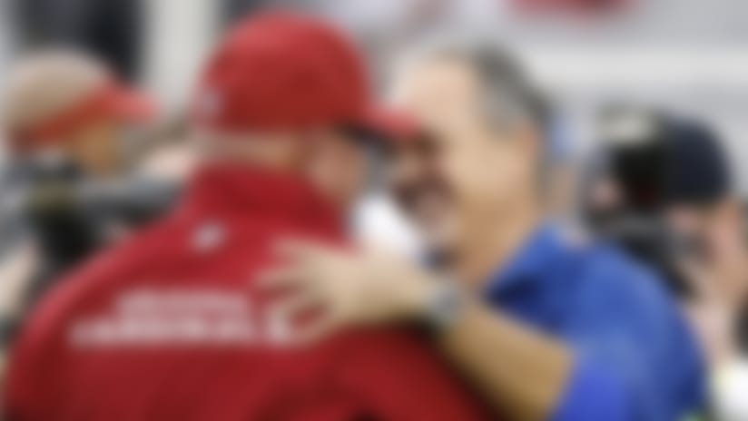 Arians earned 2012 Coach of the Year honors after a superb fill-in job for leukemia-stricken Colts head man Chuck Pagano.