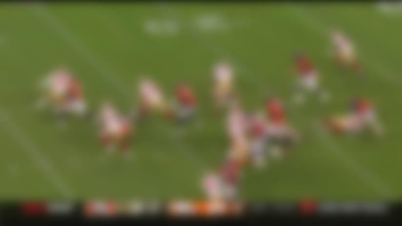 49ers kicker makes HUGE tackle on kick return