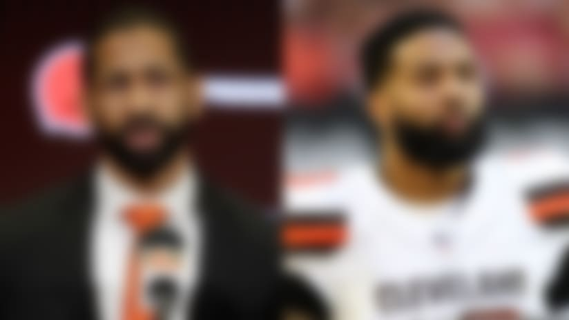 Browns GM: Odell Beckham Jr. 'focused on having a great year'