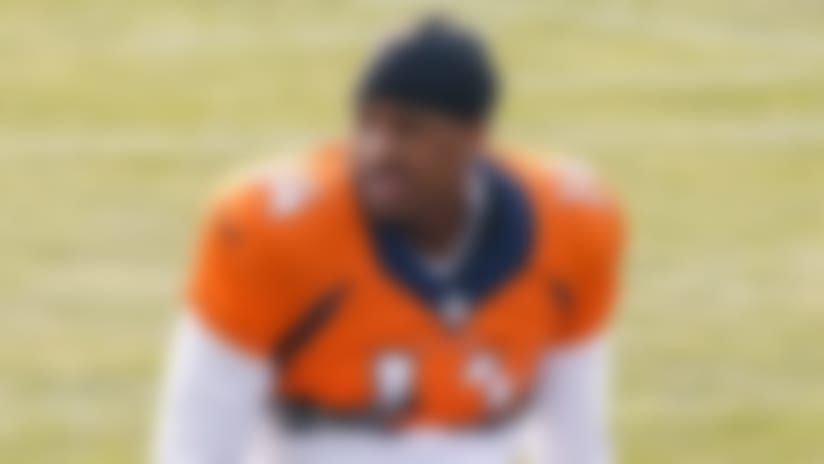 Aug 21, 2020; Englewood, Colorado, USA; Denver Broncos wide receiver Courtland Sutton (14) during training camp at the UCHealth Training Center. Mandatory Credit: Isaiah J. Downing-USA TODAY Sports