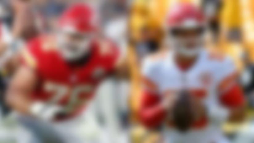 Kansas City Chiefs offensive lineman Laurent Duvernay-Tardif didn't know quarterback Patrick Mahomes had a baseball background